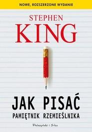 okładka Jak pisać Pamiętnik rzemieślnika, Książka | Stephen King
