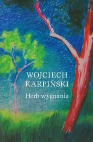 okładka Herb wygnania, Książka | Wojciech Karpiński