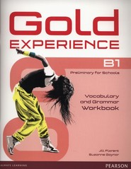 okładka Gold Experience B1 Vocabulary and Grammar Worbook, Książka | Jill Florent, Suzanne Gaynor