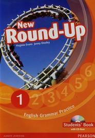 okładka New Round Up 1 Student's Book + CD Szkoła podstawowa, Książka | Virginia Evans, Jenny Dooley