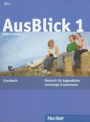 okładka Ausblick 1 Kursbuch, Książka |