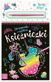 okładka Księżniczki Zdrapywanka z rysikiem, Książka | Podgórska Anna