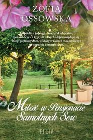 okładka Miłość w Pensjonacie Samotnych Serc, Książka | Ossowska Zofia