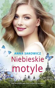 okładka Niebieskie motyle Wielkie Litery, Książka | Anna Sakowicz