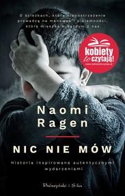 okładka Nic nie mów, Ebook   Naomi Ragen