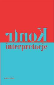 okładka Kontrinterpretacje, Ebook | Praca zbiorowa