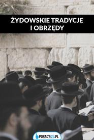 okładka Żydowskie obrzędy i tradycje – głównie weselne, Ebook | Porady123
