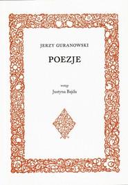 okładka Poezje, Książka | Guranowski Jerzy