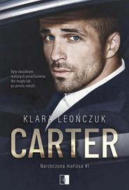 okładka Carter, Ebook | Klara Leończuk