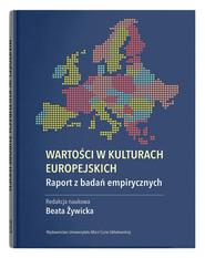 okładka Wartości w kulturach europejskich. Raport z badań empirycznych, Książka | null