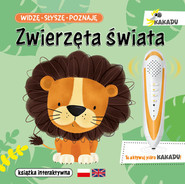 okładka Widzę słyszę poznaję Zwierzęta świata Książka interaktywna, Książka | Matz Agnieszka