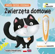 okładka Widzę słyszę poznaję Zwierzęta domowe Książka interaktywna, Książka | Matz Agnieszka