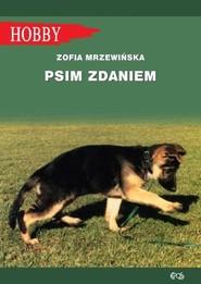 okładka Psim zdaniem, Książka | Mrzewińska Zofia