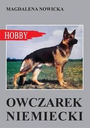 okładka Owczarek niemiecki, Książka | Nowicka Magdalena