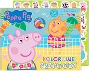 okładka Peppa Pig Zabawa w kolory Kolorowe przygody, Książka | Opracowanie zbiorowe