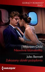 okładka Niewinne kłamstewka, Książka   Maureen Child