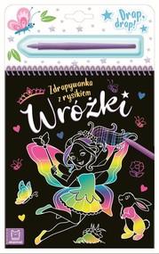 okładka Wróżki Zdrapywanka z rysikiem, Książka | Podgórska Anna