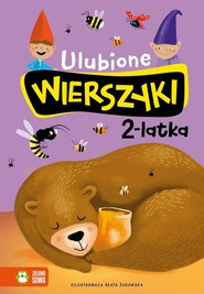 okładka Ulubione wierszyki 2-latka, Książka | Julian Tuwim, Maria Konopnicka, Władysław Bełza, Ignacy Krasicki, Stanisław Jachowicz, Aleksand Fredro