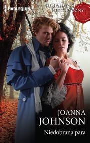 okładka Niedobrana para, Książka | Joanna Johnson
