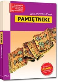 okładka Pamiętniki Wydanie z opracowaniem, Książka | PasekJan Chryzostom