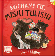 okładka Kochamy cię Misiu Tulisiu, Książka | Melling David