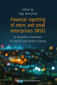 okładka Financial reporting of micro and small enterprises (MSE) in transition economies of Central and East, Książka |
