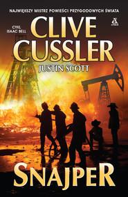 okładka Snajper, Książka   Cussler Clive, Justin Scott