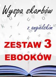 okładka 3 ebooki: Wyspa skarbów z angielskim. Literacki kurs językowy, Ebook | Robert Louis Stevenson, Marta Owczarek, Arthur Conan Doyle