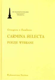 okładka Carmina Selecta Poezje wybrane, Książka |