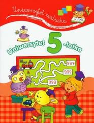 okładka Uniwersytet 5-latka, Książka | Lekan Elżbieta