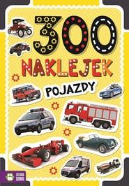 okładka 300 naklejek Pojazdy, Książka | Praca Zbiorowa