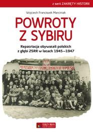 okładka Powroty z Sybiru, Ebook | Wojciech Franciszek Marciniak
