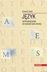 okładka Język. Wprowadzenie do badań nad mową, Ebook | Edward  Sapir