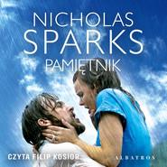 okładka PAMIĘTNIK, Audiobook   Nicholas Sparks