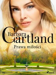 okładka Prawa miłości - Ponadczasowe historie miłosne Barbary Cartland, Ebook   Cartland Barbara