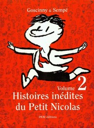 okładka Histoires inedites du Petit Nicolas 2, Książka   René Goscinny, Jean Jacques Sempe