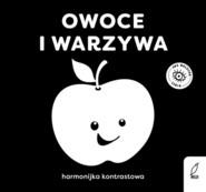 okładka Owoce i warzywa Harmonijka kontrastowa, Książka |