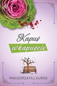 okładka Kapuś w kapuście, Książka | Kursa Małgorzata