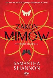 okładka Czas Żniw Tom 2 Zakon Mimów, Książka | Samantha Shannon