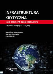 okładka Infrastruktura krytyczna jako element bezpieczeństwa-wymiar europejski i krajowy, Książka | Magdalena Molendowska, Ostrowska Martyna, Paweł Górski