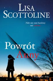 okładka Powrót Anny, Ebook | Lisa Scottoline