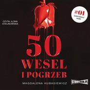 okładka 50 wesel i pogrzeb, Audiobook | Magdalena Kubasiewicz