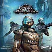 okładka Legion nieśmiertelnych. Tom 2. Świat Pyłu, Audiobook | B.V. Larson