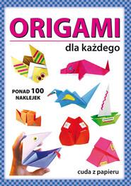 okładka Origami dla każdego, Książka | Anna  Smaza, Beata Gutowska
