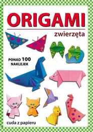 okładka Origami zwierzęta, Książka | Beata  Guzowska