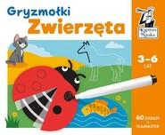okładka Zwierzęta Gryzmołki Kapitan Nauka, Książka | Bożena Dybowska, Justyna Perkuszewska-Staniszewska