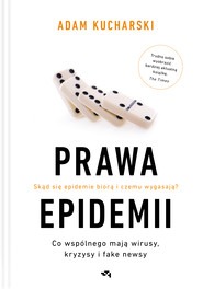 okładka Prawa epidemii, Ebook | Adam Kucharski