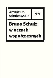 okładka Bruno Schulz w oczach współczesnych. Antologia tekstów krytycznych i publicystycznych lat 1920-1939, Książka |