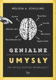 okładka Genialne umysły, Ebook | Melissa A. Schilling