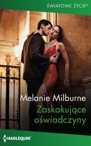 okładka Zaskakujące oświadczyny, Ebook   Melanie Milburne